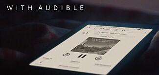 Støtte for lydboktjenesten Audible er innebygd, der du kan lytte til over 400.000 lydbøker via Bluetooth. Foto: Amazon