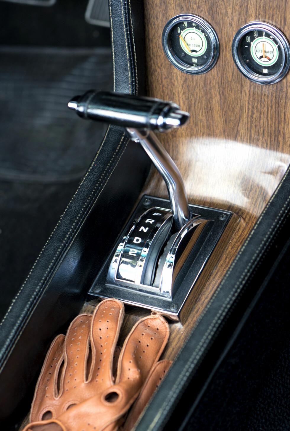 AUTOMAT:Tretrinns kasse gir silkemyk kraftoverføring. Foto: Paal Kvamme.