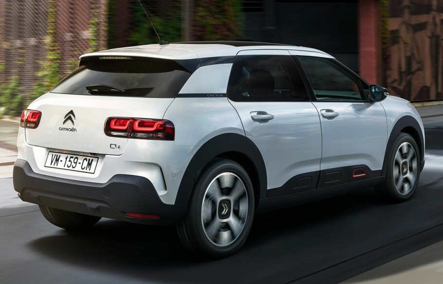 NY ELBIL: Citroen C4 Electric er antatt å komme allerede i 2020. Både pris og rekkevidde kan bli hyggelig. Bildet er av dagens Citroën C4 Cactus, som ikke tilbys som elbil. Foto: PSA