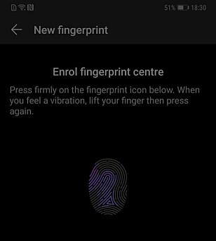 Oppsettet av fingersensoren er likt som vi er vant med. Foto: Martin Kynningsrud Størbu