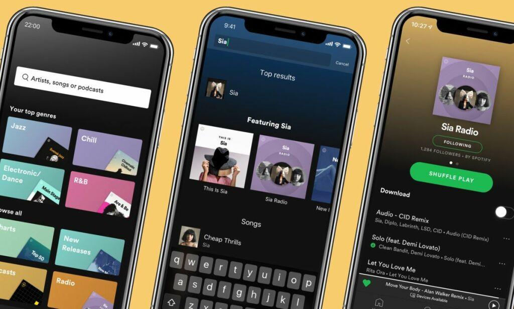 image: Spotify med nye funksjoner