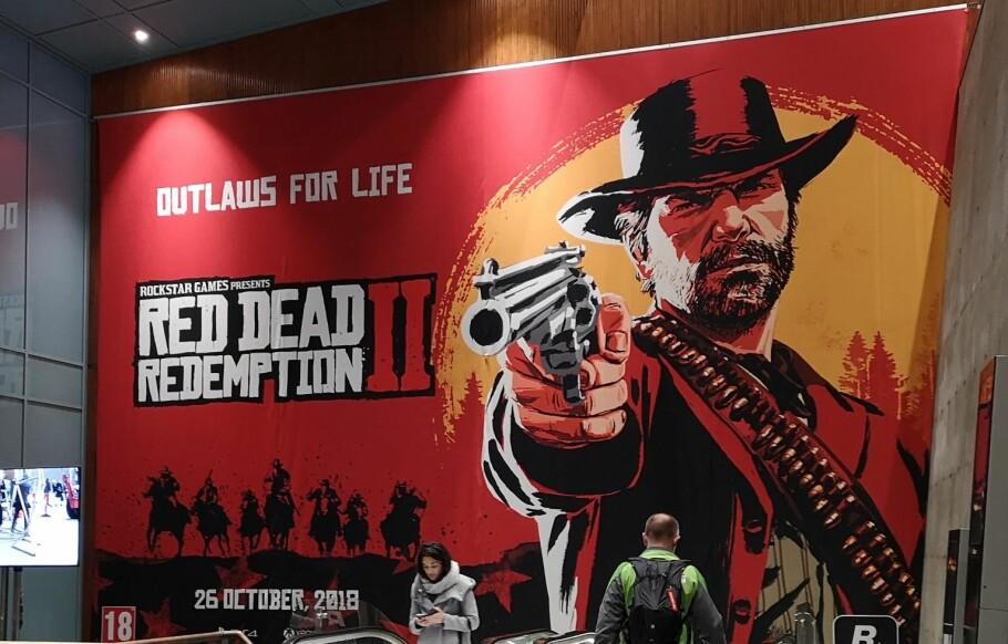 Red Dead Remption 2 krever sin mann/kvinne, hatt og lagringplass. Foto: Pål Joakim Pollen.