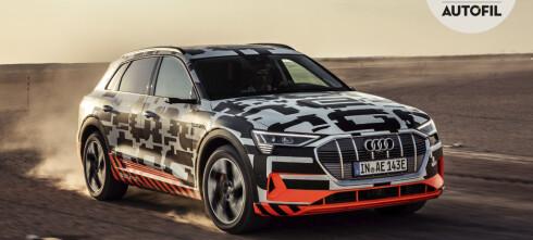 Vi gjør en full sjekk av Audi e-tron