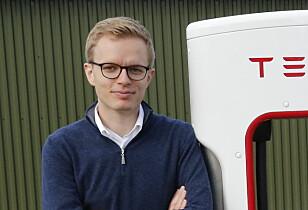 Kommunikasjonssjef i Tesla, Even Sandvold Roland. Foto: Henrik Skolt / NTB Scanpix