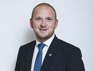 Jon Georg Dale (FrP), Samferdselsminister. Foto: Samferdselsdepartementet