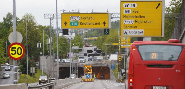 image: Vil skjerpe bruk av nedsatt fart ved veiarbeid