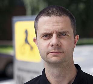 Nils Sødal, senior kommunikasjonsrådgiver i NAF. Foto: NAF