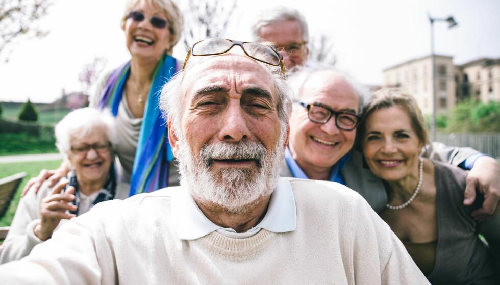 HALV LØNN I PENSJON: En gjennomsnittlig norsk arbeidstaker kan vente seg en pensjon på kun halvparten av lønnen, ifølge en fersk rapport fra Mercer. Foto: Shutterstock/ NTB scanpix