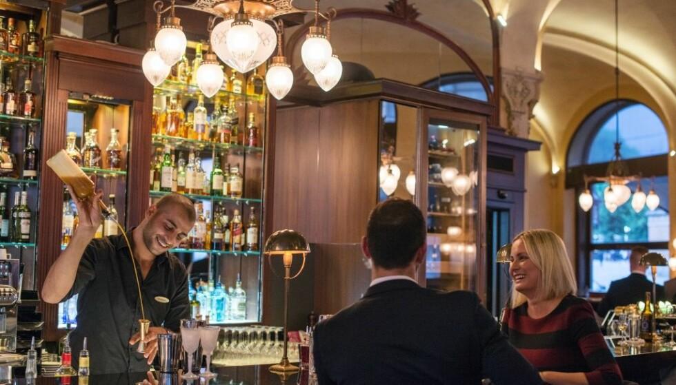 BESTE HOTELL: Hotel Continental i Oslo er stemt fram til 9. plass på lista over Europas beste hoteller, i det anerkjente reisebladet Condé Nast Traveler. Foto: Hotel Continental