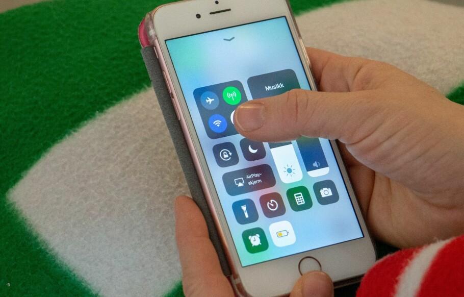 ADVARER MOT ÅPNE WIFI-NETT: Det kan være lurt å bruke mobildata fremfor wifi på offentlige steder. Foto: Martin Kynningsrud Størbu