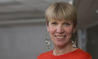 Ellen Scheen i Telia Norge avviser at det er lite innovasjon i bransjen. Foto: Telia Norge