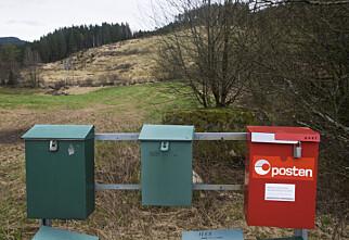Norske postkasser tomme for brev to dager i uken