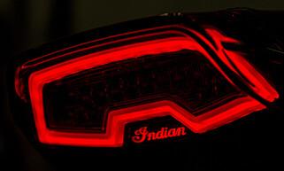 GJENNOMTENKT: Det er smådetaljene som skiller Indian fra andre motorsykler. Foto: Jamieson Pothecary
