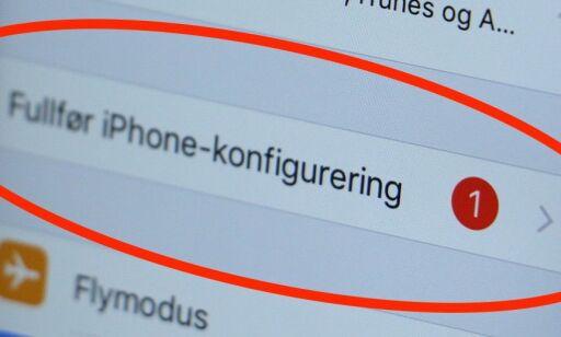 image: Slik stopper du Apple-maset