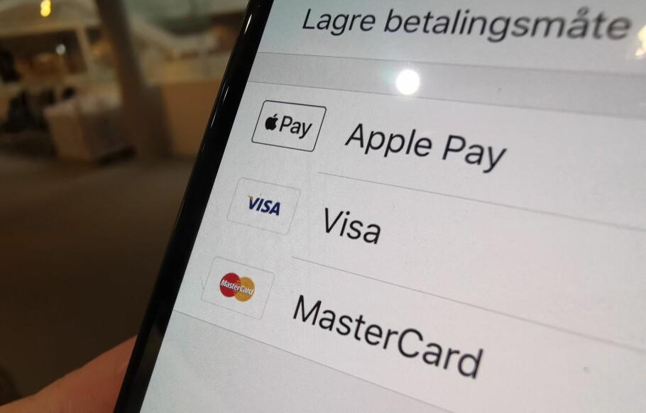 APPLE PAY OG RUTER: Nå kan du betale med Apple Pay i RuterBillett-appen. Foto: Martin Kynningsrud Størbu