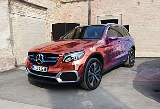 Mercedes' hydrogenbil er også en ladbar hybrid!