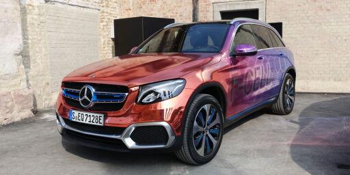 image: Mercedes' hydrogenbil er også en ladbar hybrid!