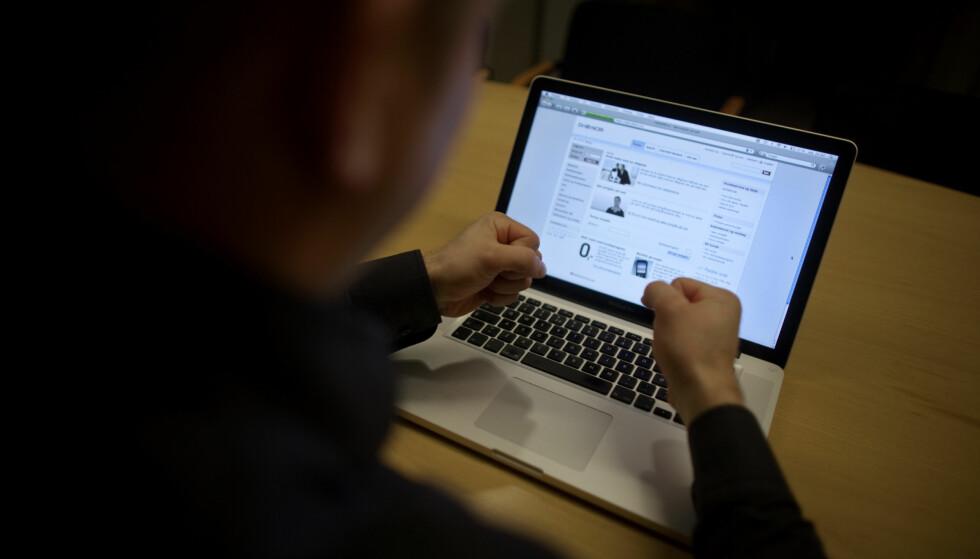 NETTFRYKT: Ifølge en rapport fra NorSIS har nordmenns frykt på Internett økt. Foto: Kyrre Lien/SCANPIX