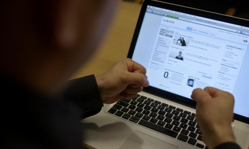 image: Kraftig økning i folk som er redde for å bruke nettbank
