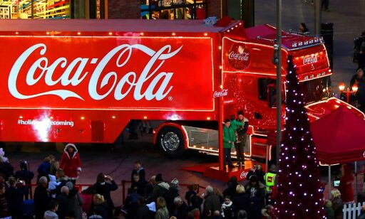image: Coca-Cola lanserer julebrus