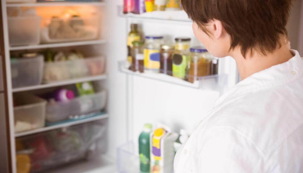 TEST AV KJØLESKAP: Av i alt 21 kjøleskap som er testet av danske Tænk, er det Samsung som kommer best ut. Foto: NTB Scanpix
