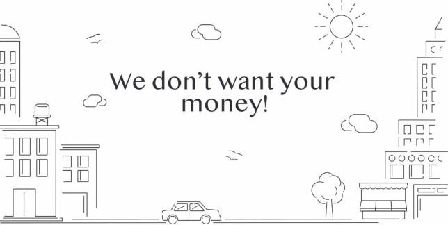 Initative Q-rekrutteringen minner om et pyramidespill, men skaperne hevder at de ikke vil ha pengene dine. Skjermbilde: Initiative Q