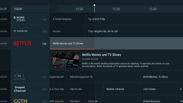 Netflix blir bakt inn i OnePlace-tjenesten i den kommende oppdateringen. Søkefunksjonene skal også være forbedret. Foto: Canal Digital