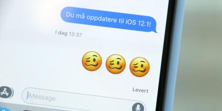 - Hva er denne emojien?!? iOS hva tenkte du på!!!!