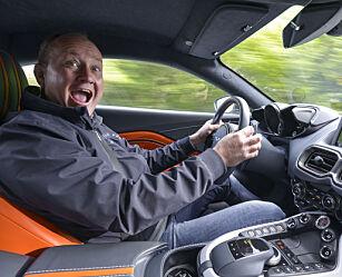 image: Halvferdig, men kjører fantastisk