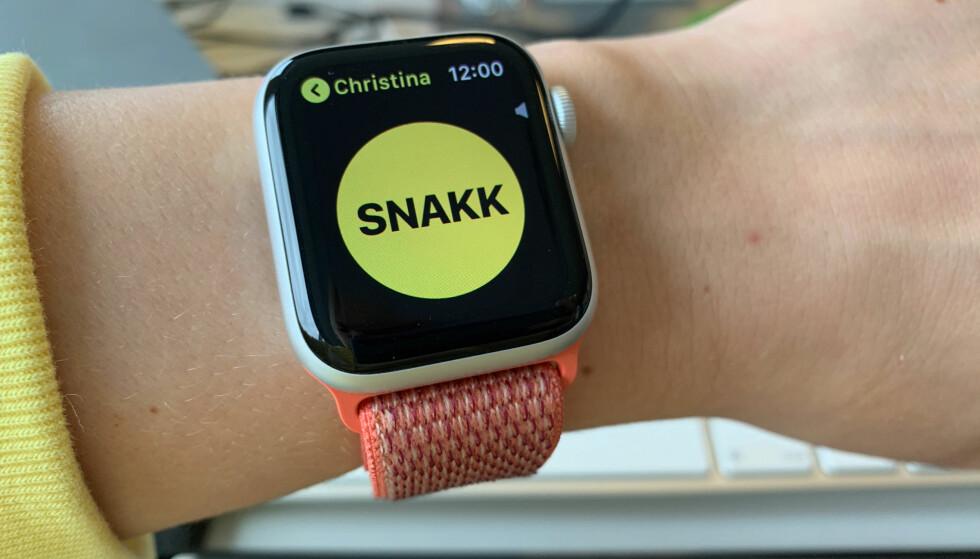 NY OPPDATERING: En uke etter at den forrige Apple Watch-oppdateringen ble sluppet, kommer en ny. Foto: Kirsti Østvang