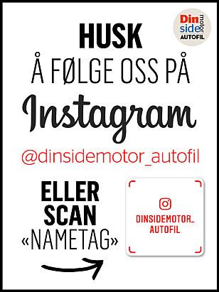 """HUSK! Følg oss på Instagram. Her poster vi """"behind the scenes"""" på Instastory, alle videoene kommer på IGTV i tillegg til våre egne flotte bilder på veggen."""