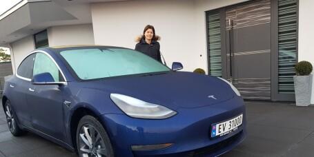 Anette greide ikke vente lenger på Folke-Teslaen