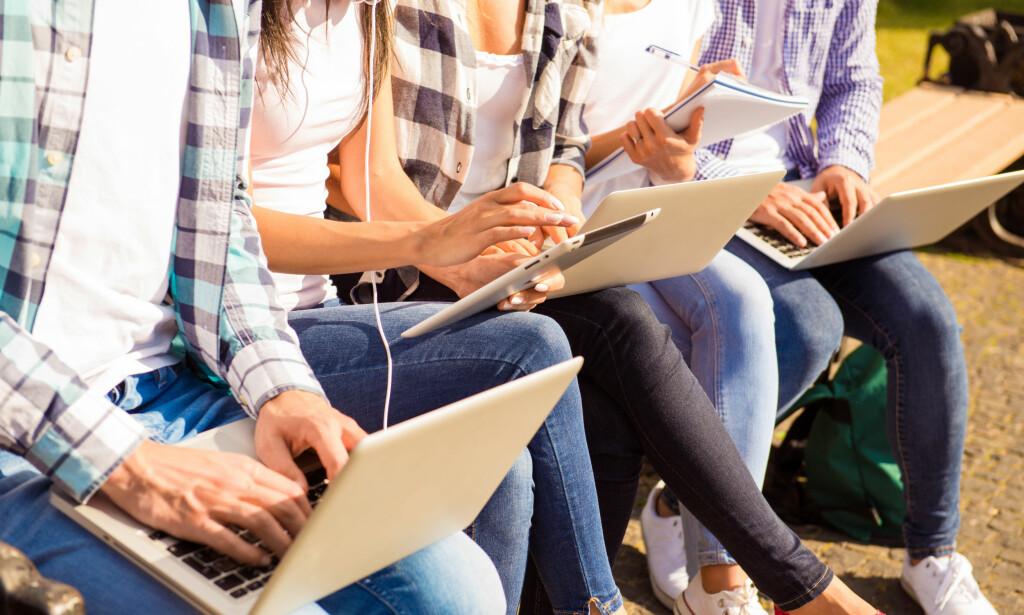 KJØPE UTSTYR? Avhengig av hvilket studieprogram på videregående du har valgt, kan du få stipend for å dekke utgiftene til kjøp av skolemateriell, såkalt utstyrsstipend. Foto: NTB Scanpix