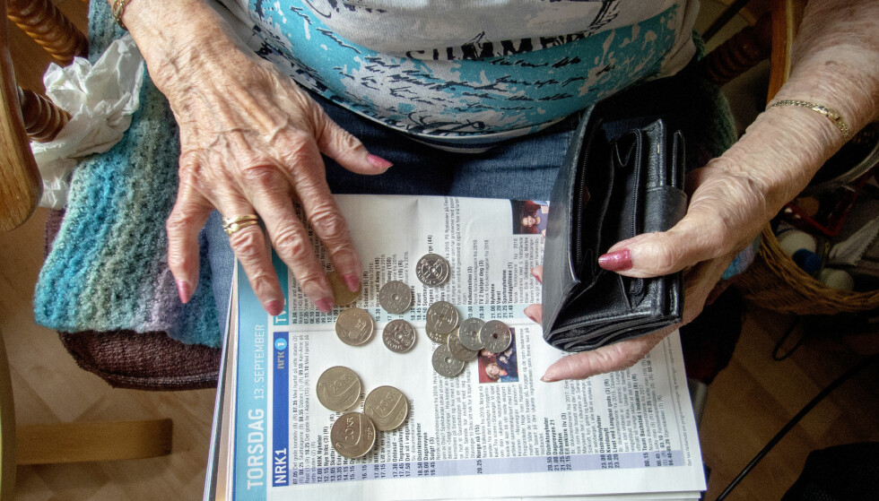 FÆRRE FÅR MINST: Ifølge tall fra Nav er det færre minstepensjonister i Norge. Gorm Kallestad / NTB scanpix
