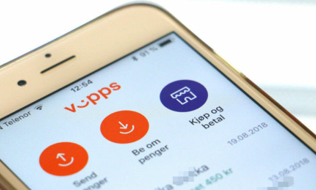 VIPPS TOPPER: Vipps er merkevaren nordmenn flest anbefaler til andre. Foto: Kristin Sørdal