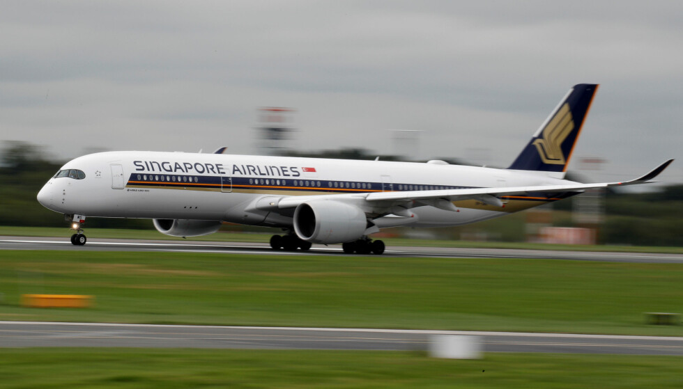 <strong>BESTE FLYSELSKAP:</strong> AirlineRatings sier det var tett, men at Singapore Airlines stakk av med tittelen som årets beste flyselskap. Foto: REUTERS/Phil Noble/File/GLOBAL BUSINESS WEEK AHEAD