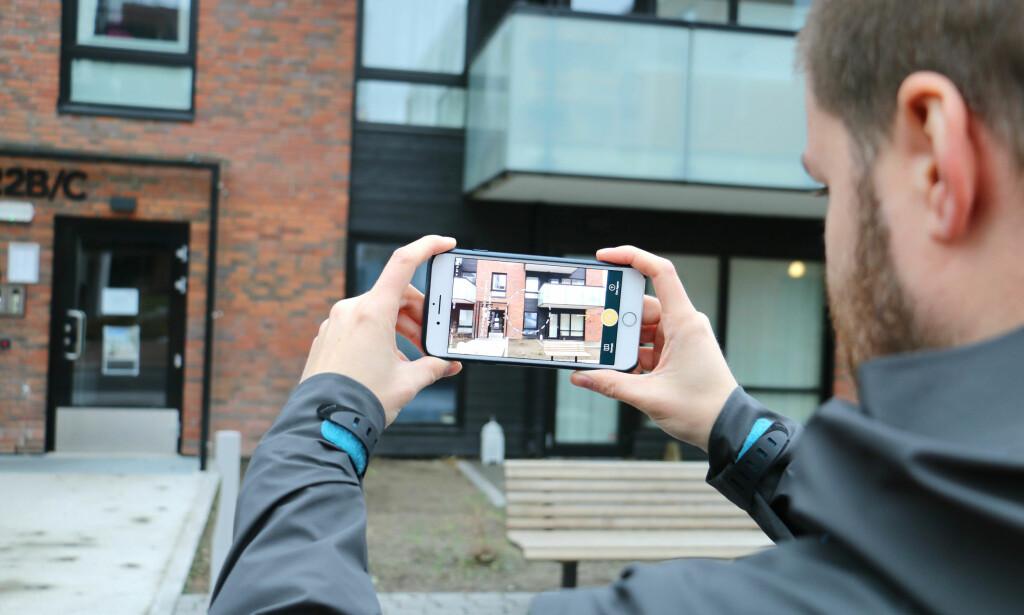 OMRÅDEPRIS: Hva er ditt eller naboens hus verdt? Det skal en ny app hjelpe deg med, men det er visse feilmarginer. Dinside har vært ute og testet. Foto: Eilin Lindvoll.
