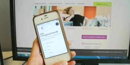Tester ut studielån i mobilbank