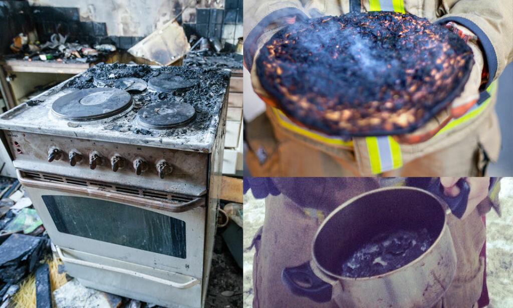 image: Komfyren en versting i brannstatistikken