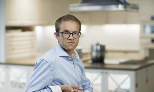 Kommunikasjonsrådgiver Troels Mathisen hos Ikea. Foto: Ikea