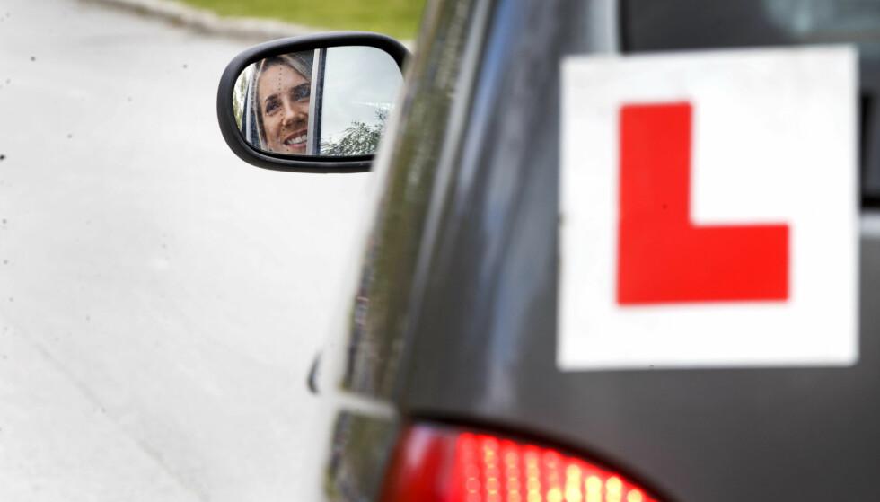 KARANTENE PÅ FØRERPRØVEN: Juks på førerprøven skal gi ett års karantene, hvis regjeringen får det som de vil. Foto: NTB Scanpix