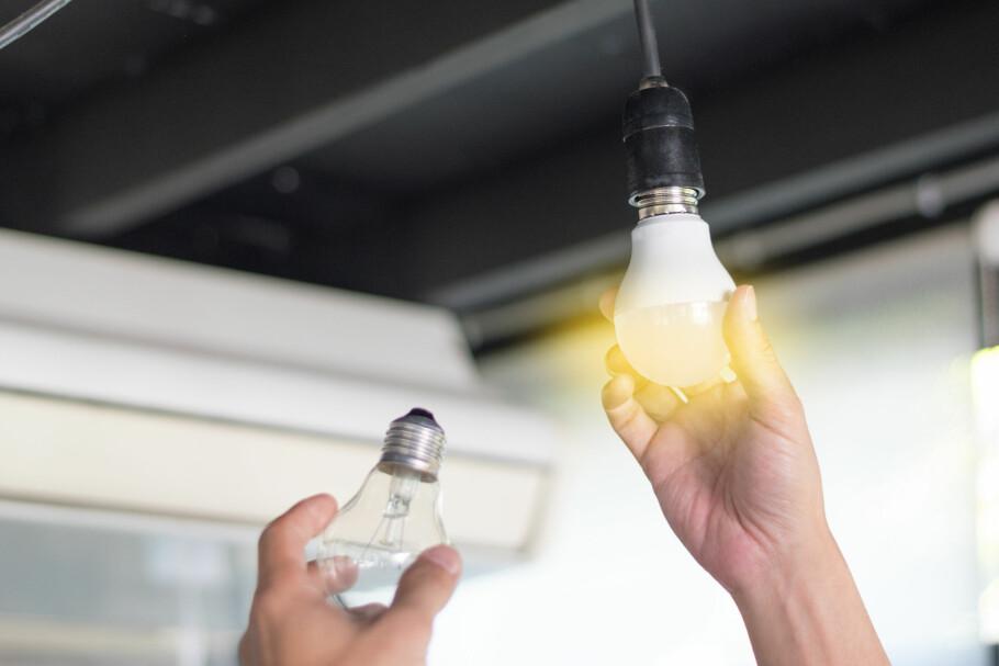 TEST AV LED-LAMPER: Ikea kommer godt ut i en fersk test av LED-lamper. Illustrasjonsfoto: Shutterstock/NTB scanpix