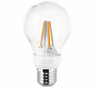 BEST I TEST: Ikea Ledare-lampen er best i test hos Testfakta. Foto: Ikea