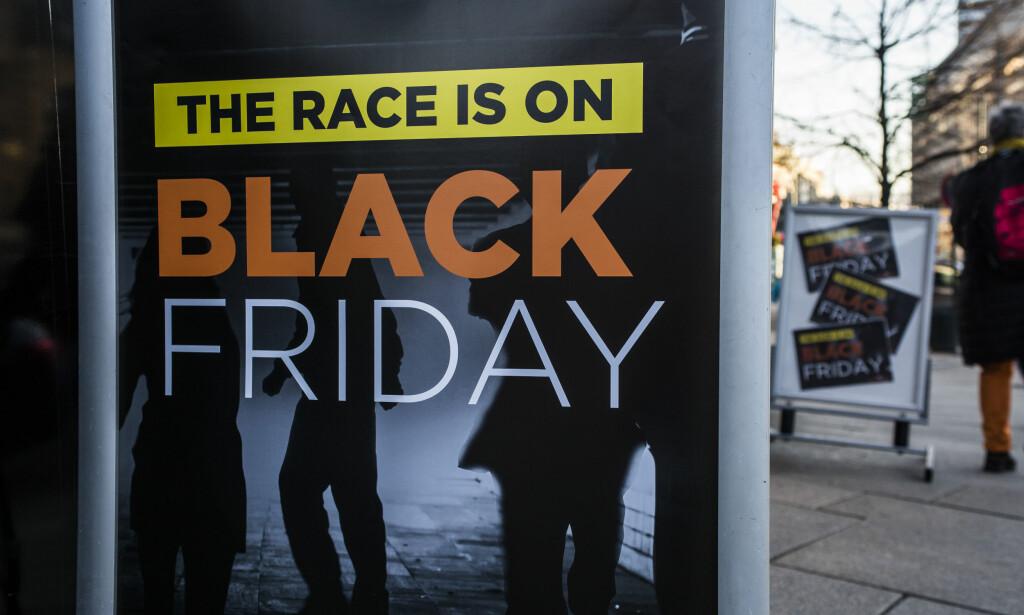 BLACK FRIDAY: Disse produktene kan det bli rift om på årets største handledag i Norge. Foto: Mariam Butt / NTB scanpix
