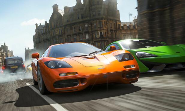 Forza Horizon 4 er midt i blinken for deg som er glad i spreke biler. Foto: Microsoft Studios.