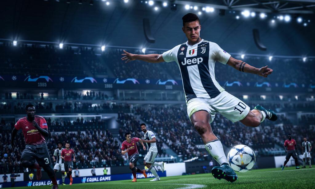 I FIFA 19 kan du styre alle fotballheltene dine. Foto: Electronic Arts.