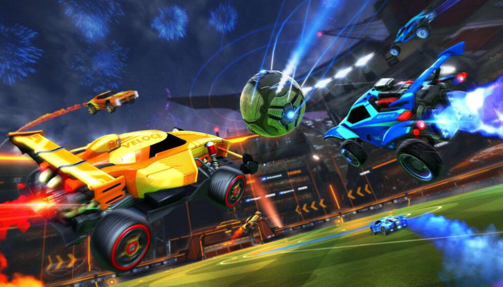 Rocket League holder det gående og er noe for spillere i alle aldre. Foto: Psyonix.