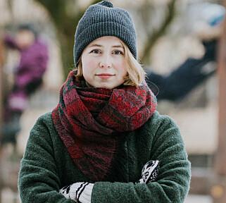 - IKKE GODT NOK: Anja Bakken Riise, leder i Framtiden i våre hender, synes siloksan-forbudet er gledelig - men skulle ønske det hadde gått enda lenger. Og PFOA-regelverket er ifølge Riise langt fra godt nok. Foto: Renate Madsen