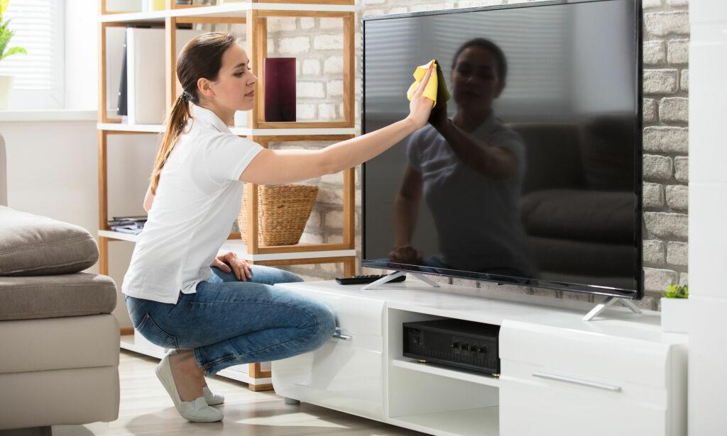 image: Unngå direkte kontakt med støv i nærheten av elektronikk