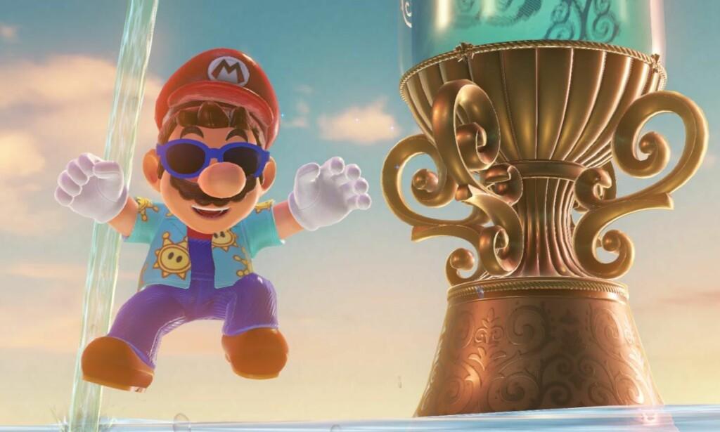 Super Mario Odyssey var et av de beste spillene i 2017.